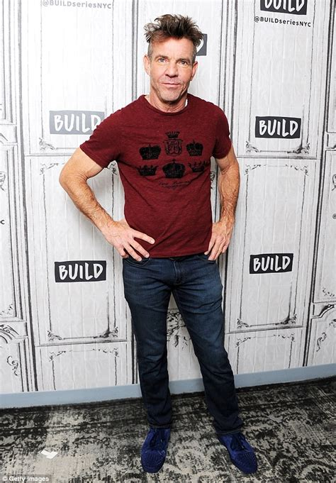 Dennis Quaid Chokes Up Talking His by Dennis Quaid Stays In Shape With Cycling And Daily