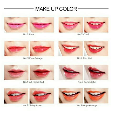 tony moly liptone get it tint lip tintlip glosslipstickmake upred tony moly lip tone get it tint in one click