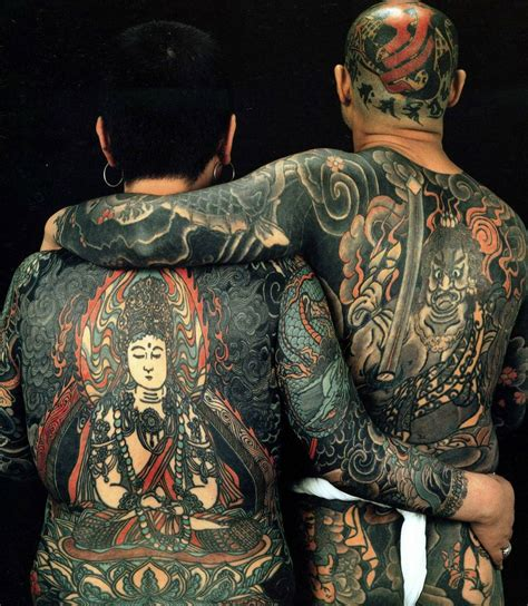 Japanese Full Body Tattoo History | a history of graphic design chapter 50 the art of body