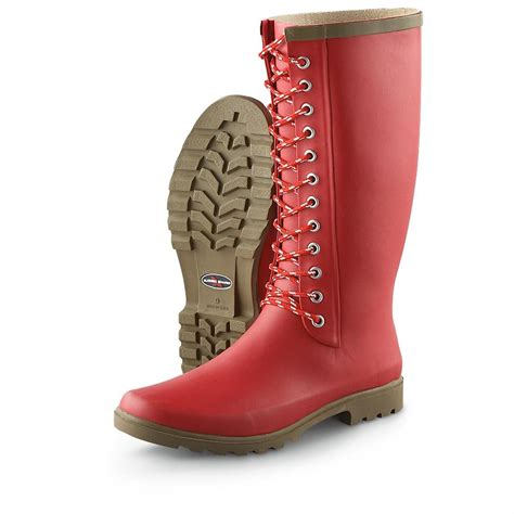 rugged boots womens s rugged shark 174 raindear boots 203489 rubber boots at sportsman s guide
