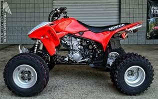 Honda Trx 450 2017 Honda Trx450r Trx400x Race Sport Atv Models