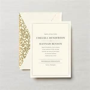 crane wedding invitations embassy lafayette wedding invitation wedding invitations
