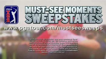 Pga Tour Sweepstakes - pga tour must see moments sweepstakes tv commercial strong foundation ispot tv