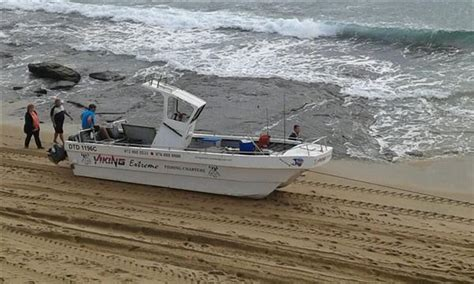 ski boat accident just in ski boat tips at shelly beach 5 injured south