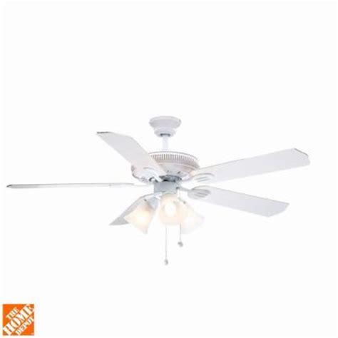 hton bay glendale ceiling fan hton bay glendale 52 in white ceiling fan ag524 wh