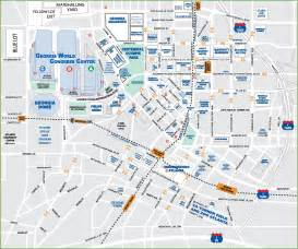 map of downtown atl pictures to pin on pinsdaddy
