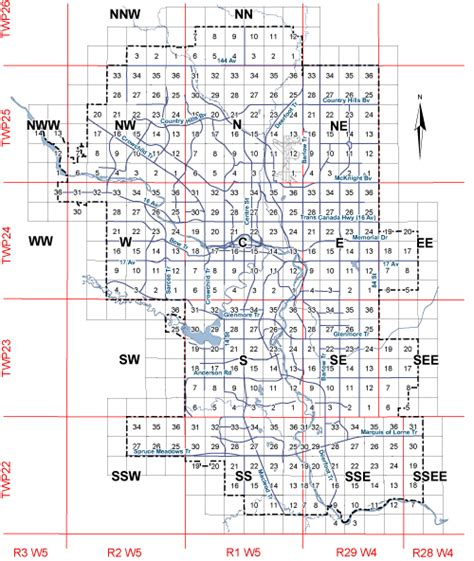 land section the city of calgary archived land use bylaw 2p80 maps