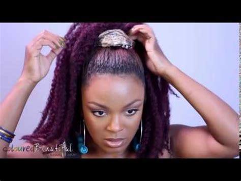 jamaican ponytail hairstyle drawstring ponytails