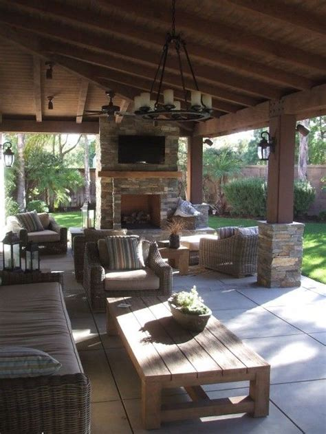 outdoor living patio ideas such a cute back yard addition a pole barn like pole