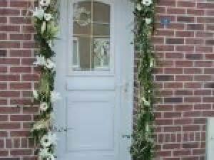 deco porte entree mariage par photosdecoration