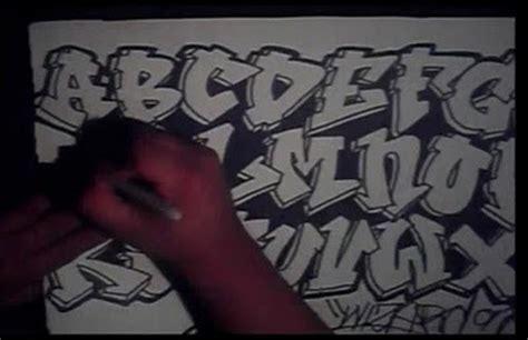 drawing graffiti alphabet letters    graffiti