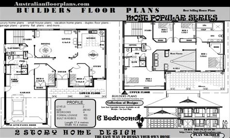 6 bedroom house floor plans 5 bedroom house federation