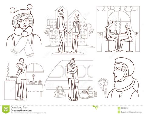 love story coloring pages love story coloring book stock vector illustration of