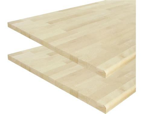 Massivholz Arbeitsplatte Birke 26x600x3000 mm jetzt kaufen