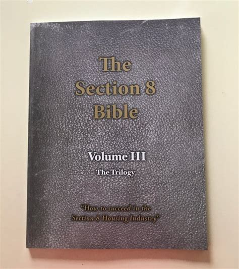 section 8 book section 8 bible volume 3 section 8 bible