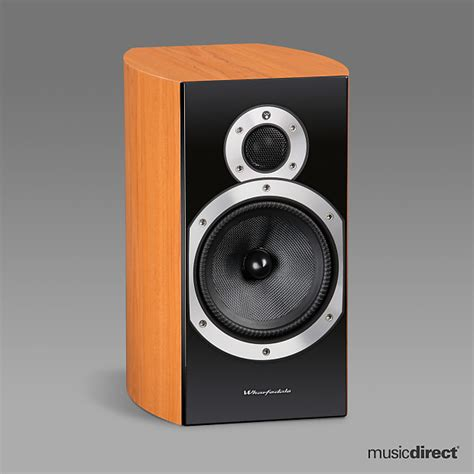 wharfedale 10 2 bookshelf speakers cherry