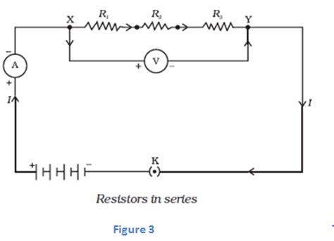 the diagram below shows two resistors connected in series to a 20 volt battery science is notes on electricity