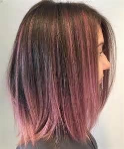 pink highlighted hair 50 40 pink hairstyles pastel colors pink highlights blonde
