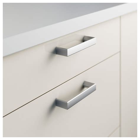 ikea drawer pulls tyda handle stainless steel 138 mm ikea