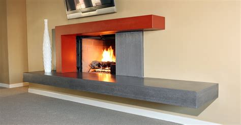 feuerstelle beton concrete fireplace and fireplace surrounds the concrete
