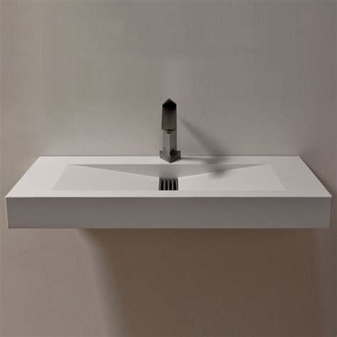 Modern Floating Bathroom Sinks Floating Hydros Sink Modern Bathroom Sinks