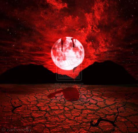 Moon Bloody Moon blood moon by carbonella on deviantart
