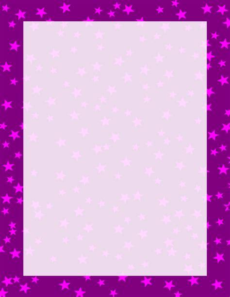 Bordir Purple purple and pink border free borders and clip