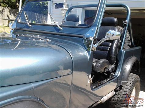 convertible jeep blue jeep cj convertible blue ebay motors 131011508980