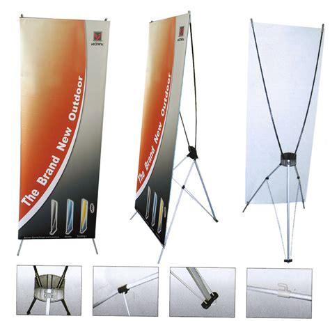 X Banner Atau Y Banner Paket Dengan Spanduknya Bahan Flexi China xbanner dan rollbanner percetakanminds