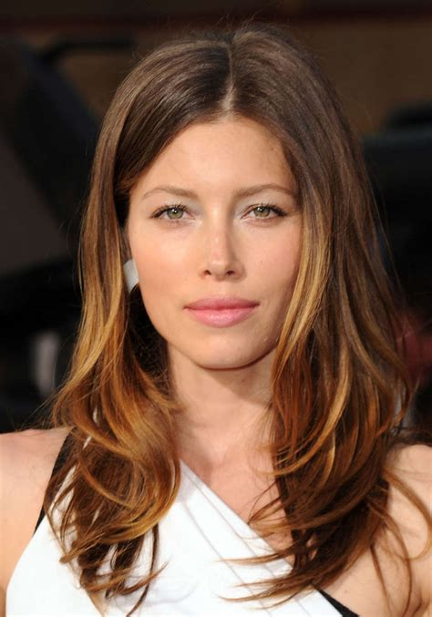 jessica biel hairstyles caramel brown hair colors for 2016 2017 best hair color