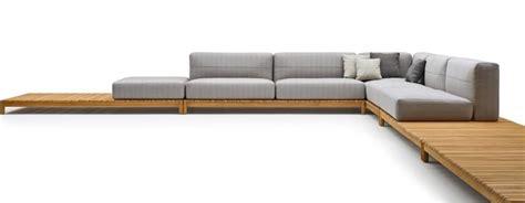 divani imbottiti divano componibile in legno massello con elementi
