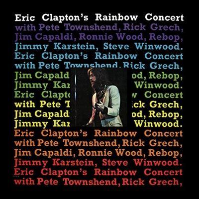 Eric Clapton S Rainbow Concert Vinyl - rainbow concert hq vinyl eric clapton hmv books