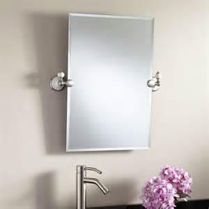 rectangular bathroom mirror 24 quot helsinki rectangular tilting mirror bathroom