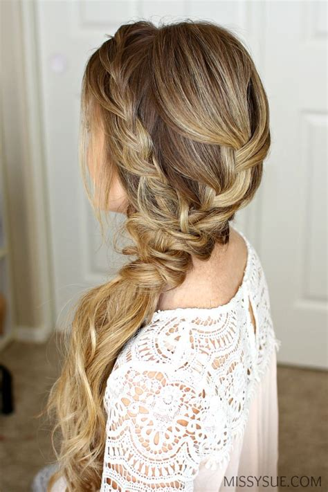 Prom Hairstyles To The Side by Best 25 Side Swept Hairstyles Ideas On Side