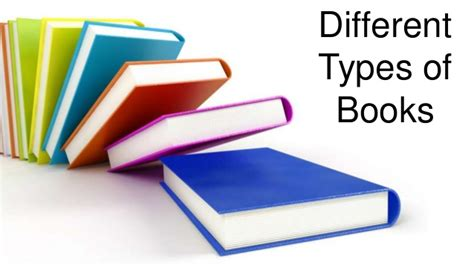different types of picture books different types of books
