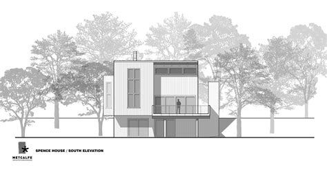 architecture house design gallery of spence house metcalfe architecture design 10
