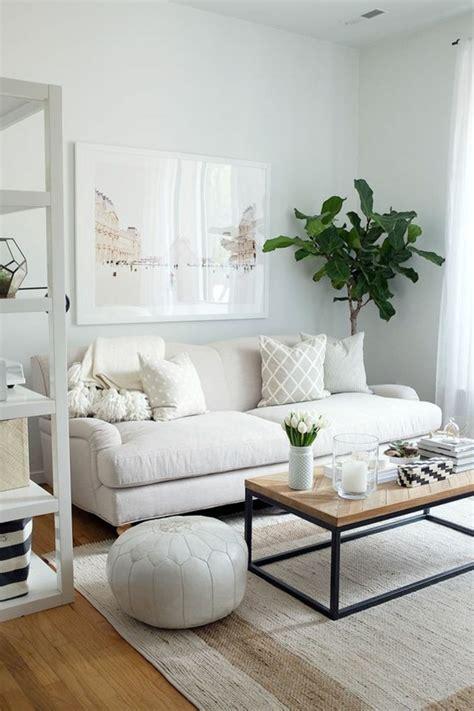 wohnzimmer pflanzen sofa wei 223 35 wohnzimmereinrichtungen mit einem wei 223 en akzent
