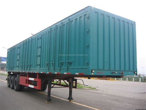 semi trailer truck van semi trailer truck trailer china ltd