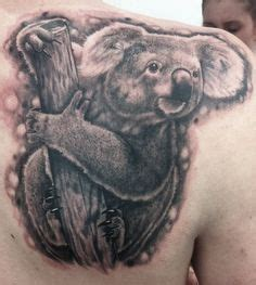animal tattoo artists brisbane koala tattoo i would like one like this on my leg