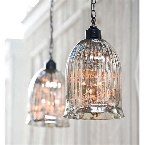 Antique Glass Pendant Lights Mercury Glass Pendants Design Loft The Design Of