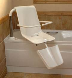 Disabled Bath Lift Seat #DisabilityLiving >> Lots more accessible bathroom ideas can