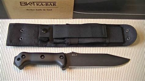 beker bk7 ka bar becker bk7 knife overview and impressions
