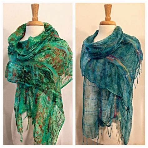 light scarves for summer 316 best images about heartfelt silks felt art and felting