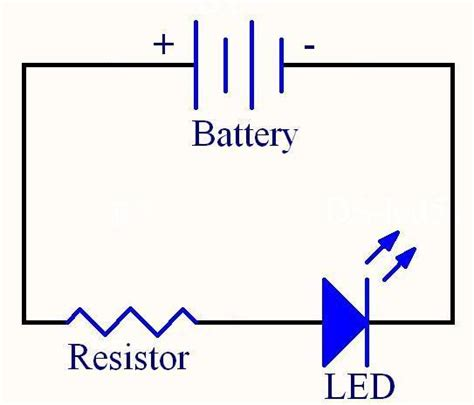 resistors in series with led working with leds and resistors danielandrade net