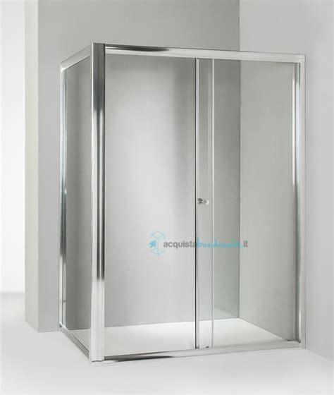 box doccia 80x120 prezzi box doccia angolare anta fissa porta scorrevole 80x120 cm