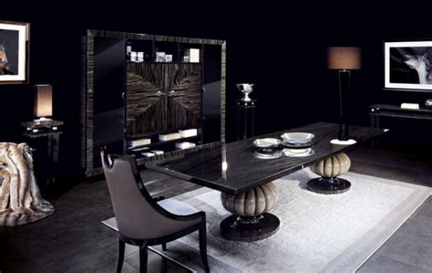 luxury modern dining tables dining room elegance kemp table by capital collection