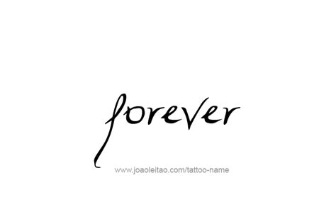 forever and always tattoo designs forever feeling name designs tattoos with names