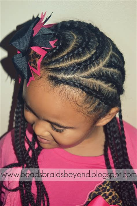 Cornrow Hairstyles For Ages 8 10 by Braids And Beyond Hairstyle