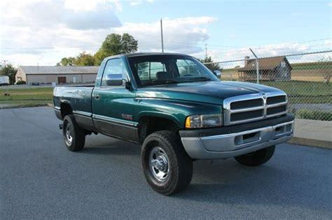 how does cars work 1994 dodge ram 2500 spare parts catalogs sell used 1994 dodge ram 2500 12 valve cummins diesel 5 speed manual transmission 4x4 in