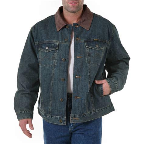 Denim Jacket wrangler blanket lined denim jacket rustic
